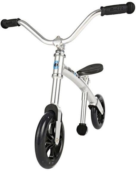 Odrážedlo Micro G-Bike+ Chopper Silver uni