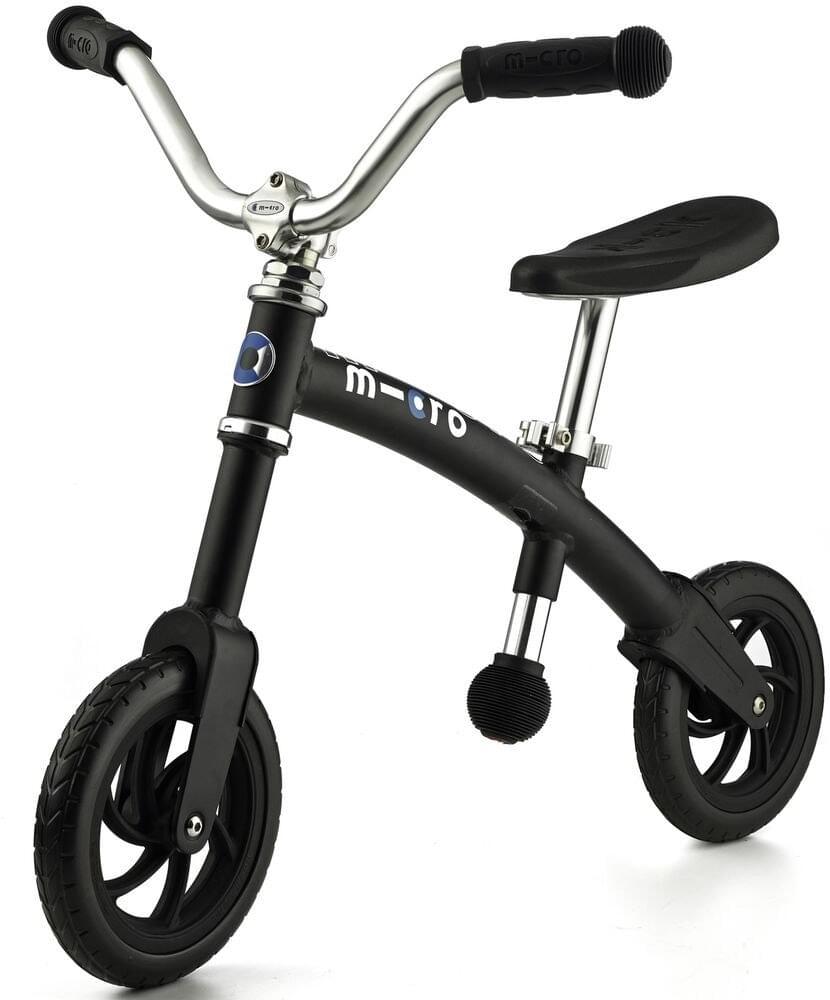 Odrážedlo Micro G-Bike+ Chopper Black uni