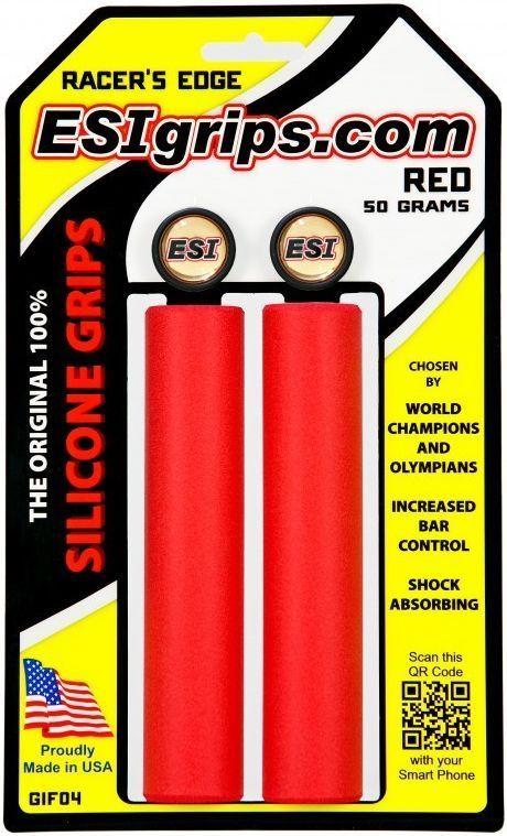 ESI Grips Racer's Edge - red uni