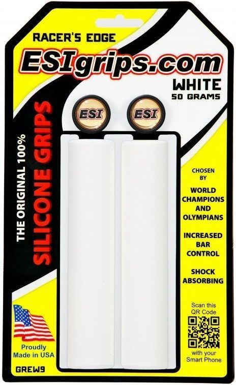 ESI Grips Racer's Edge - white uni