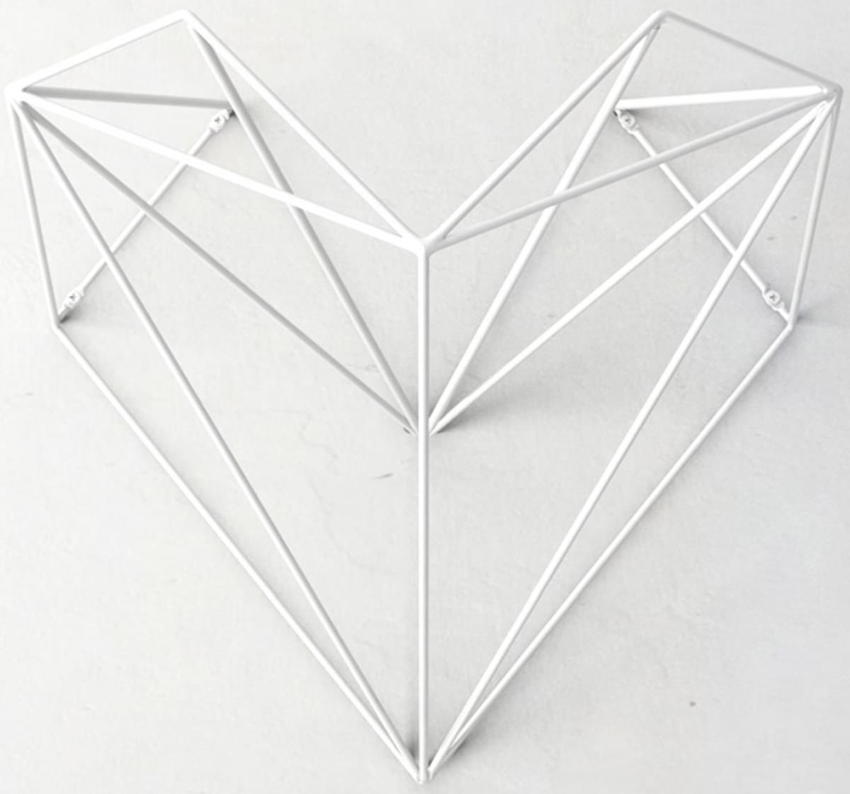Hang Bike Heart – white uni