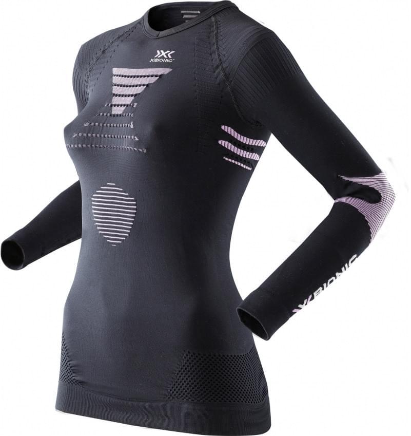 Dámské funkční triko dl.rukáv X-Bionic Ski Touring – black pink ... 0a19fbdefc