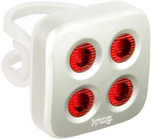 Knog Blinder Mob The Face Rear - silver uni