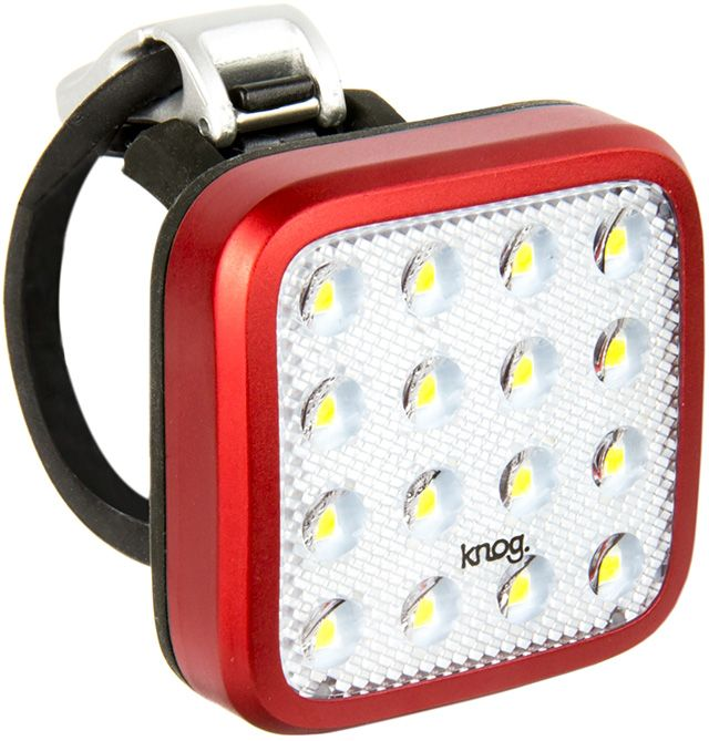 Knog Blinder Mob Kid Grid Front - red uni
