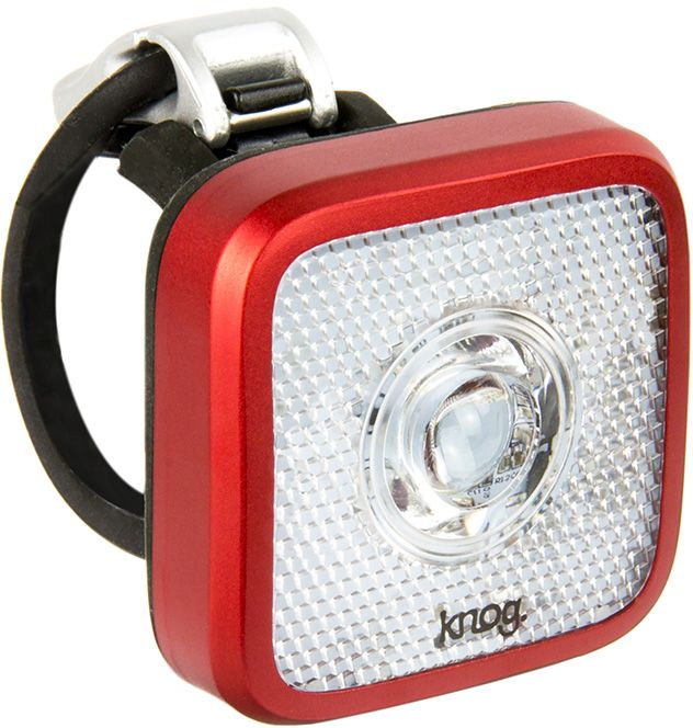 Knog Blinder Mob Eyeballer Front - red uni