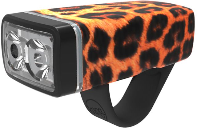 Knog Pop II Front  - leopard uni