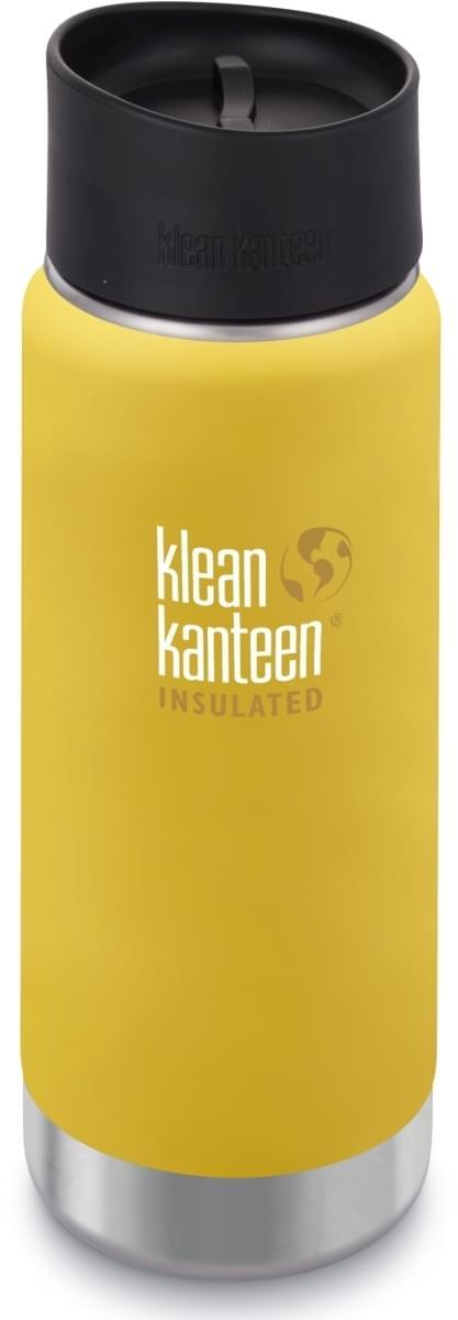 Termoska na kávu Klean Kanteen Insulated Wide w Café Cap 2.0 - lemon curry  473 ml c61e1082061