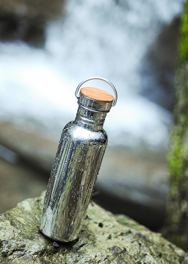 ... Nerezová lahev Klean Kanteen Reflect w Bamboo Cap - mirrored stainless  800 ml ... b3b0ecaed57