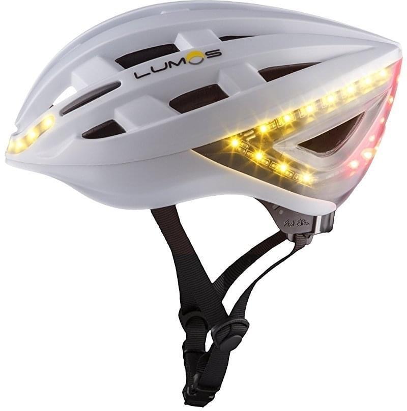 Lumos Helmet - Pearl White 54-62