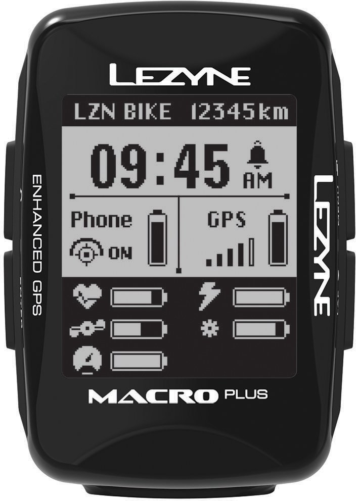 Lezyne Macro Plus GPS Black uni