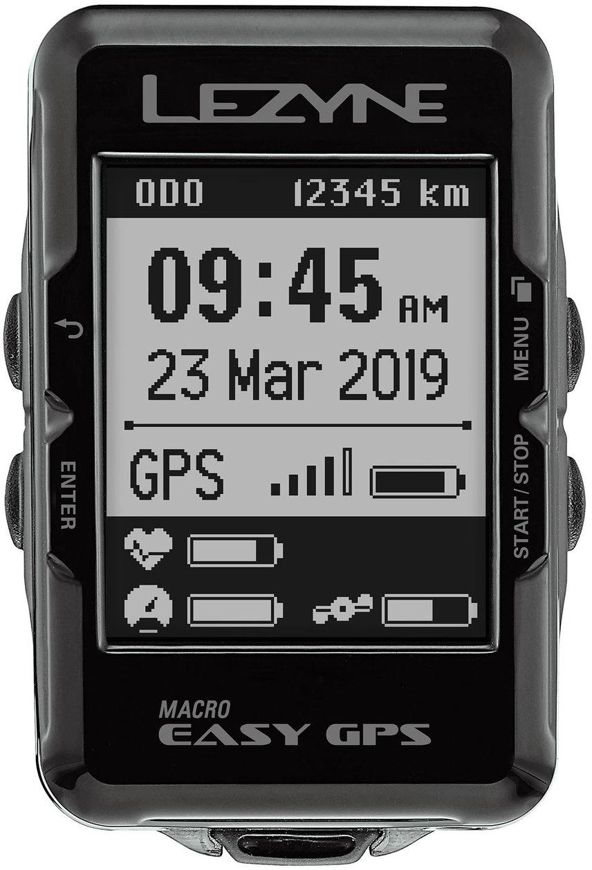 Lezyne Macro Easy GPS Black uni