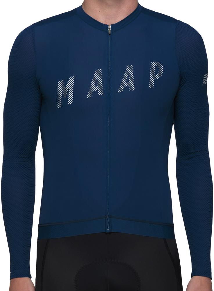 MAAP Echo Pro Base LS Jersey - Sapphire L