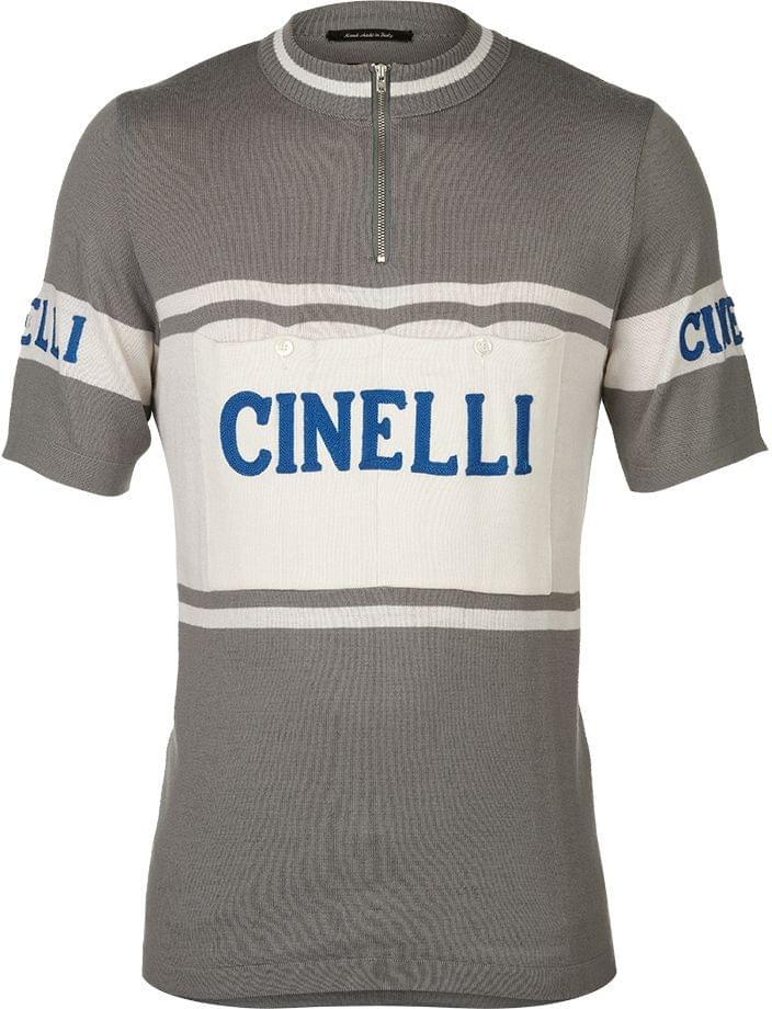 De Marchi Cinelli Merino Jersey - gray M