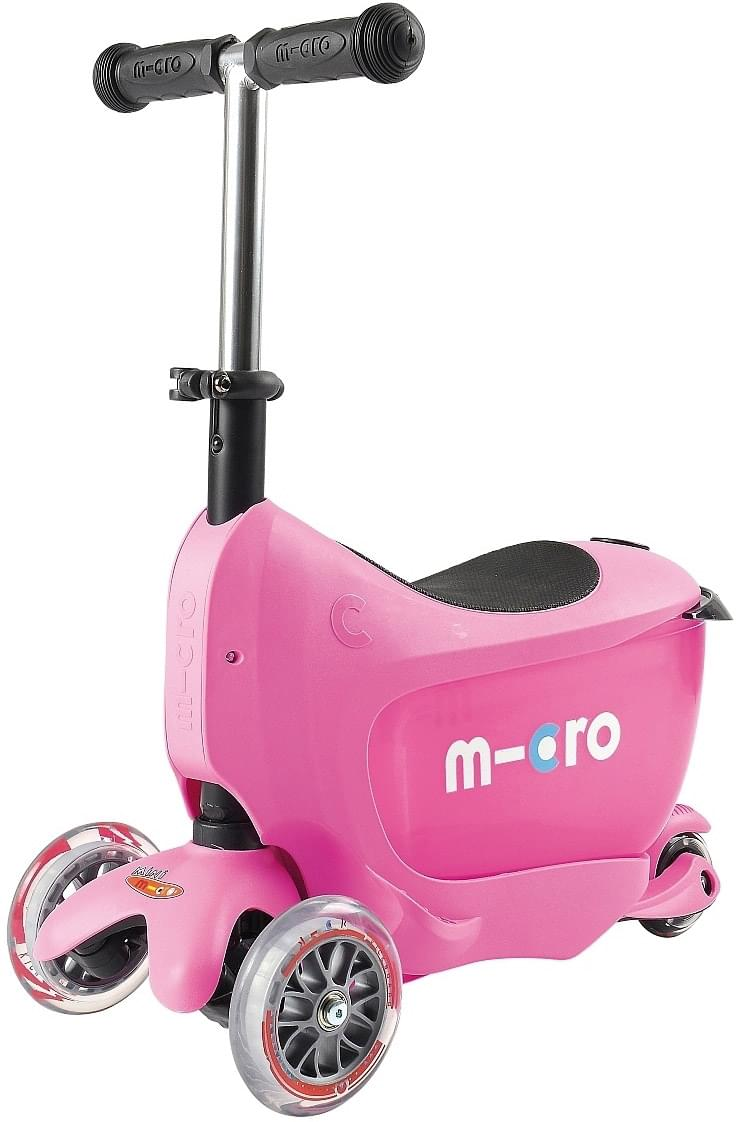 Koloběžka Micro Mini2go Deluxe - pink uni