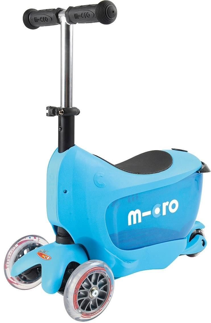 Koloběžka Micro Mini2go Deluxe - blue uni