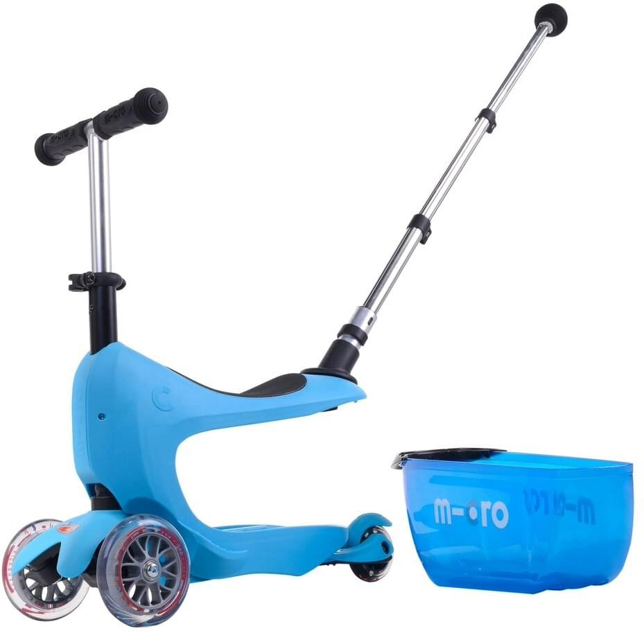 Micro Mini2go Deluxe Plus - modrá (blue) uni