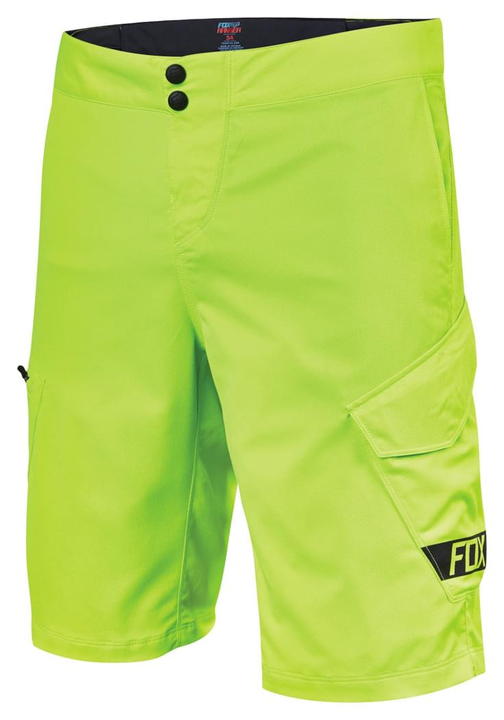 82e4f320adb Pánské cyklo kraťasy Fox Ranger Cargo 12 - flo yellow - Ski a Bike ...