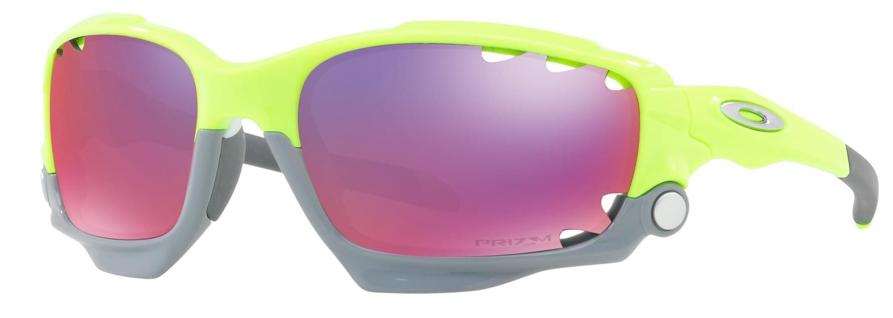 Sluneční brýle Oakley Racing Jacket - Retina burn/prizm road uni