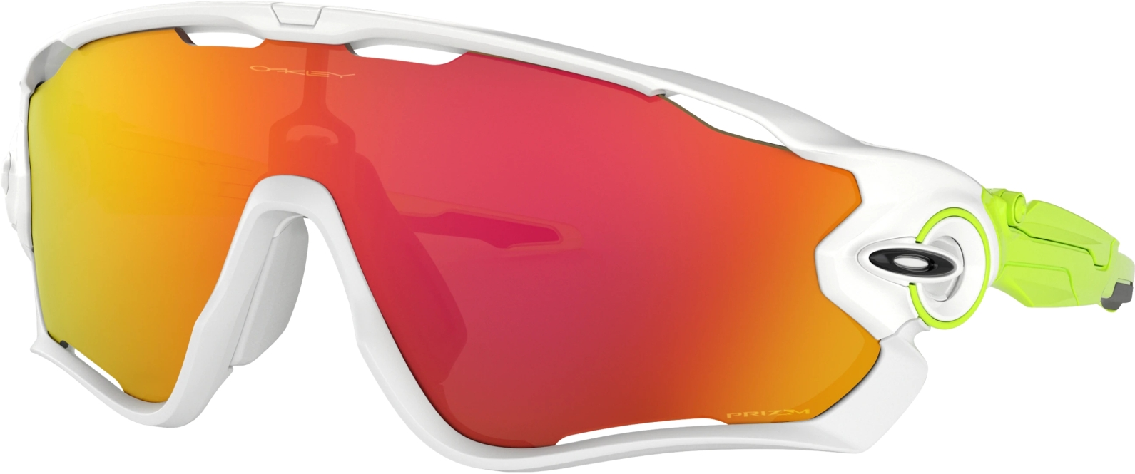 Oakley Jawbreaker - polished white/PRIZM Ruby uni