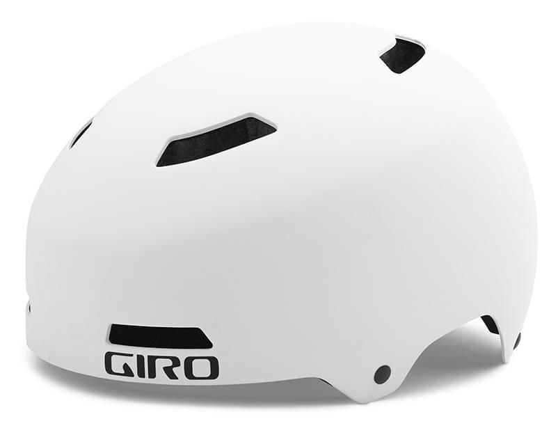 Cyklistická helma Giro Quarter - matte white M