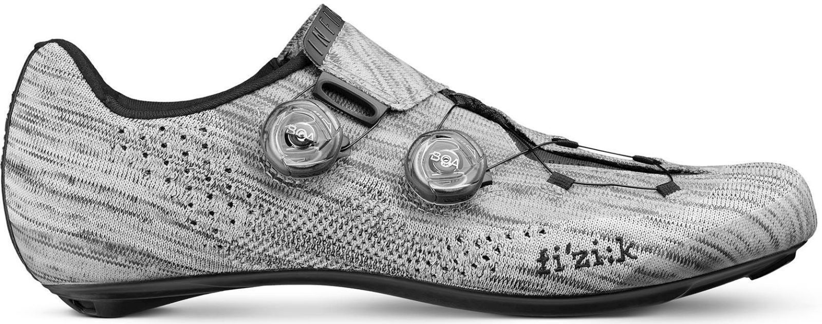 Fizik Infinito R1 Knit - grey knit/black 43