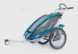 Dětský vozík Thule Chariot CX1 + bike set - Blue