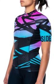 Dámský cyklistický dres Specialized SL Expert Jersey SS Wmn – Lines Mixtape