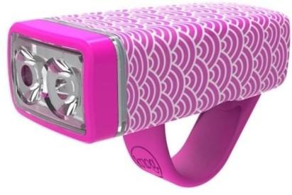 Přední světlo Knog Pop ii Front - pink