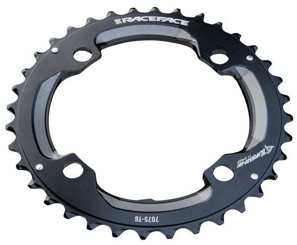 Race Face Chainring Turbine 11spd 104x36 - black 104x36
