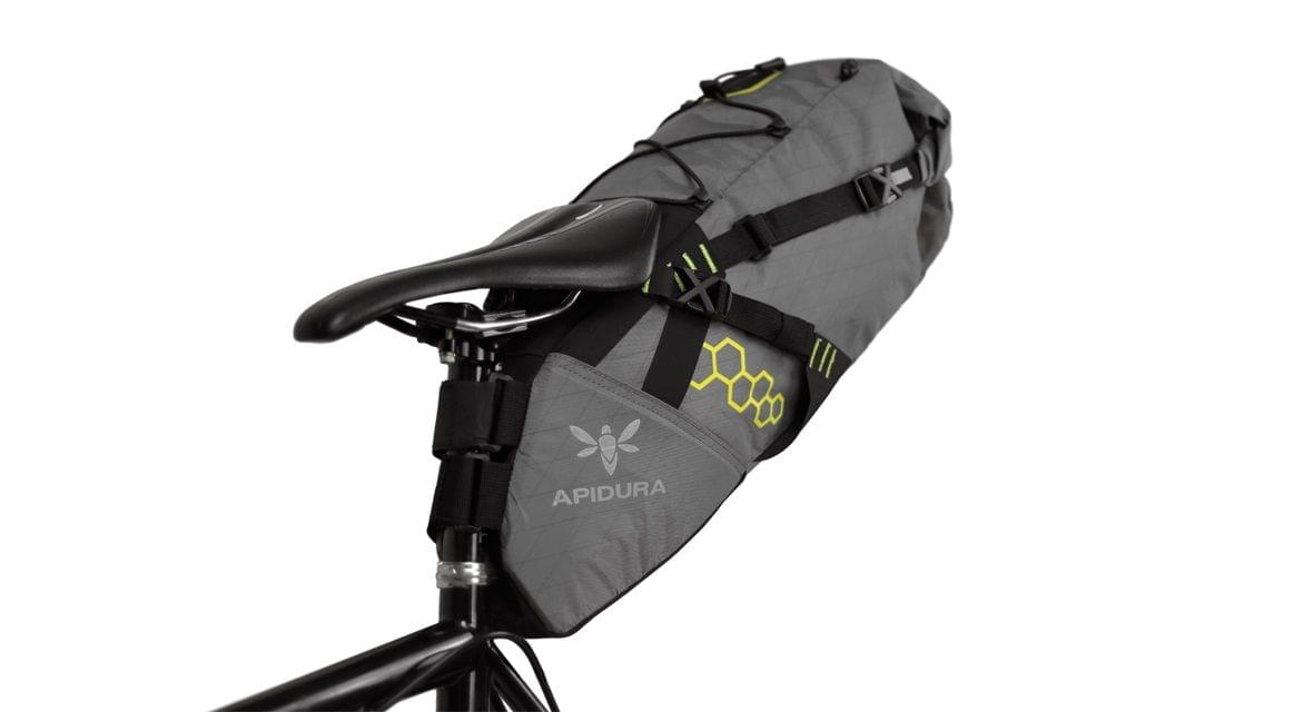 Brašna na sedlovku Apidura Saddle Pack - grey uni