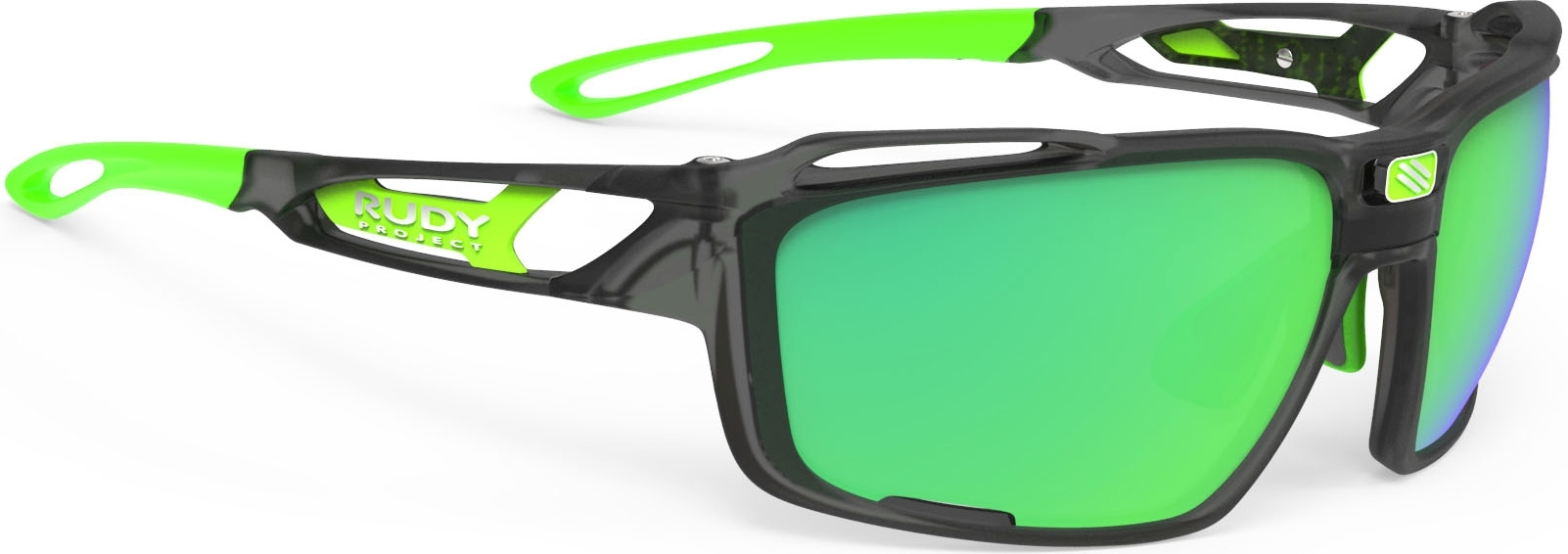 Rudy Project Sintryx - ice graphite matte/polar 3FX HDR multilaser green uni