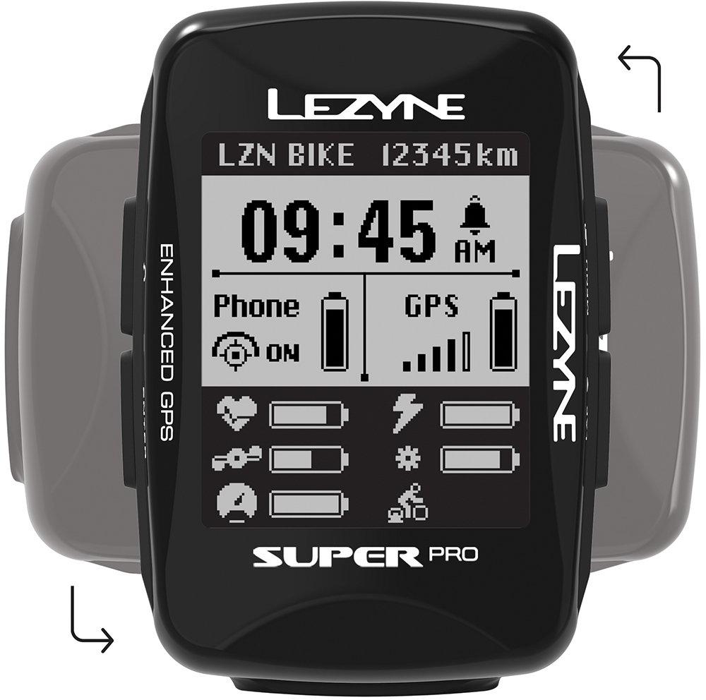 Lezyne Super Pro GPS Black uni