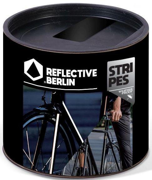 Reflective.Berlin Reflective Stripes - black uni
