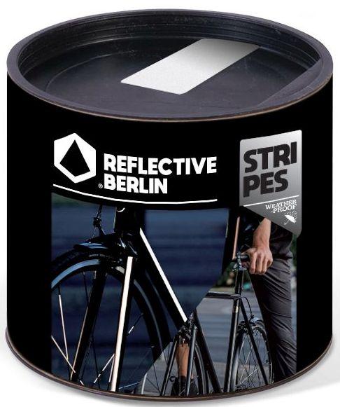 Reflective.Berlin Reflective Stripes - white uni