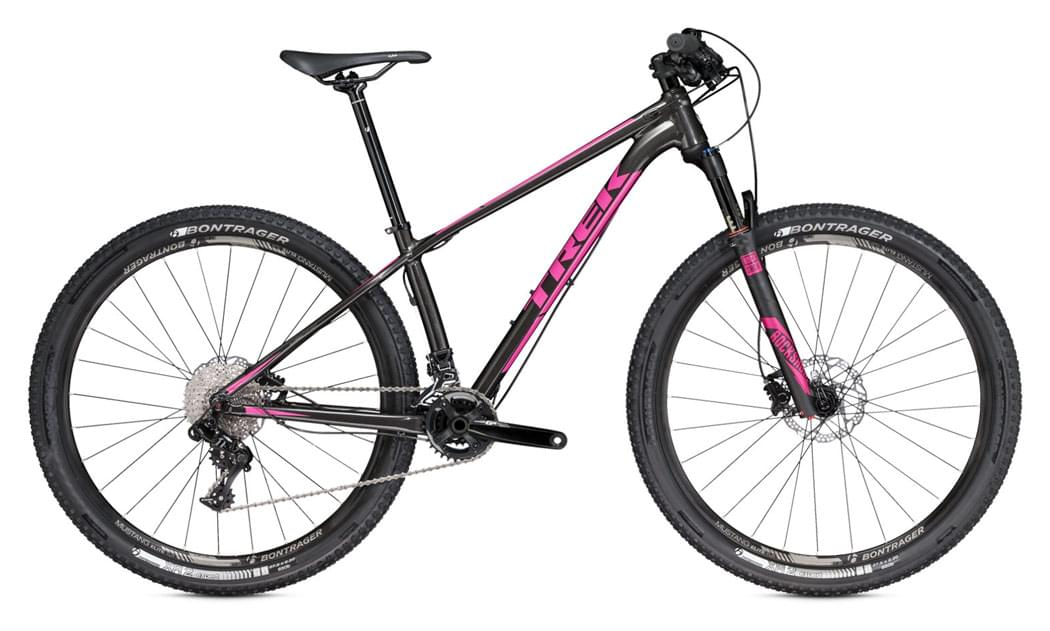 Dámské horské kolo Trek Superfly 6 WSD - black/pink 13.5