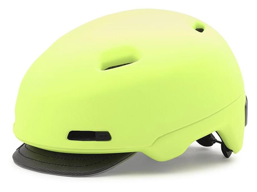 Cyklistická helma Giro Sutton – matte highlight yellow M