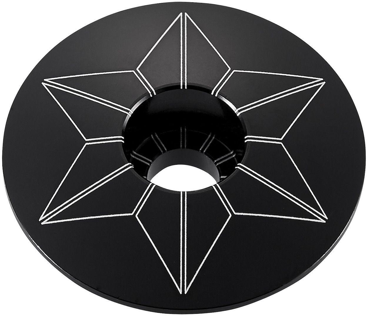 Supacaz Star Capz - Anodized - Black (anodized) uni