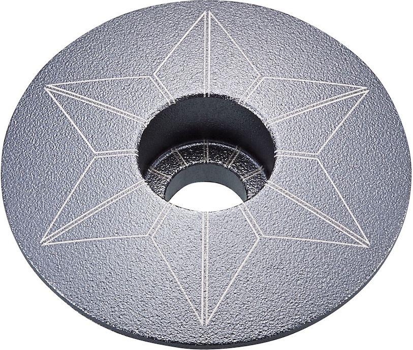 Supacaz Star Capz - Anodized - Gun Metal (anodized) uni