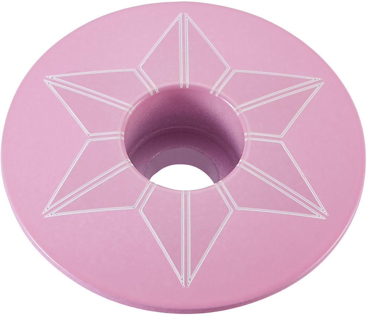 Supacaz Star Capz - Powder Coated - Giro Pink (powder coated) uni