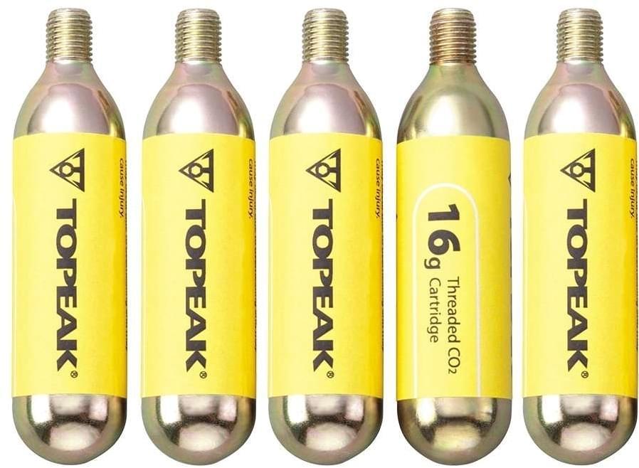 Topeak CO2 16g set 5ks bombiček uni