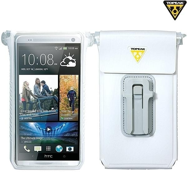 Voděodolný obal na mobil Topeak Smarphone Dry 6 - white - Ski a Bike ... 235726a3261