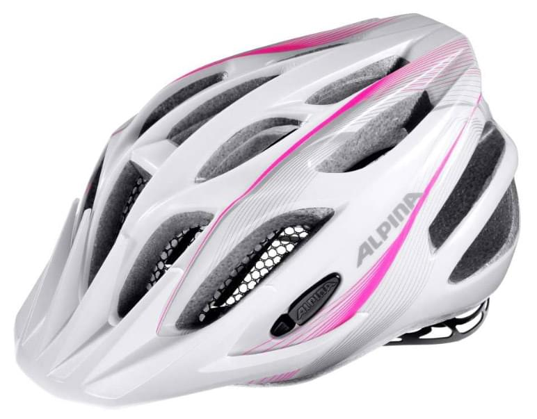 Alpina Fb jr. 2.0 flash - white-pink-silver 50-55