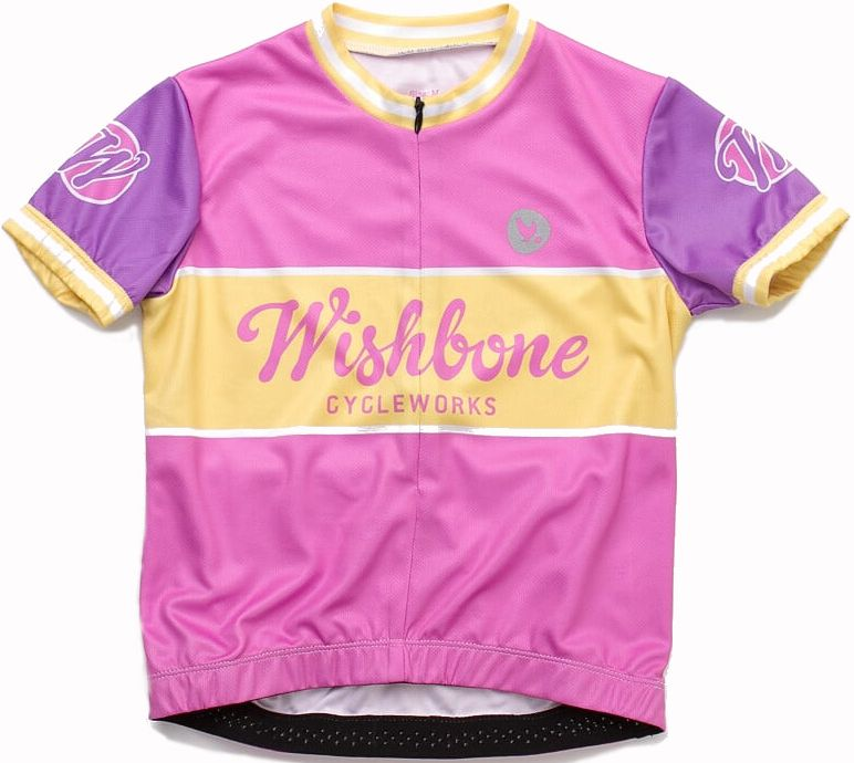 Wishbone Jersey Pink M