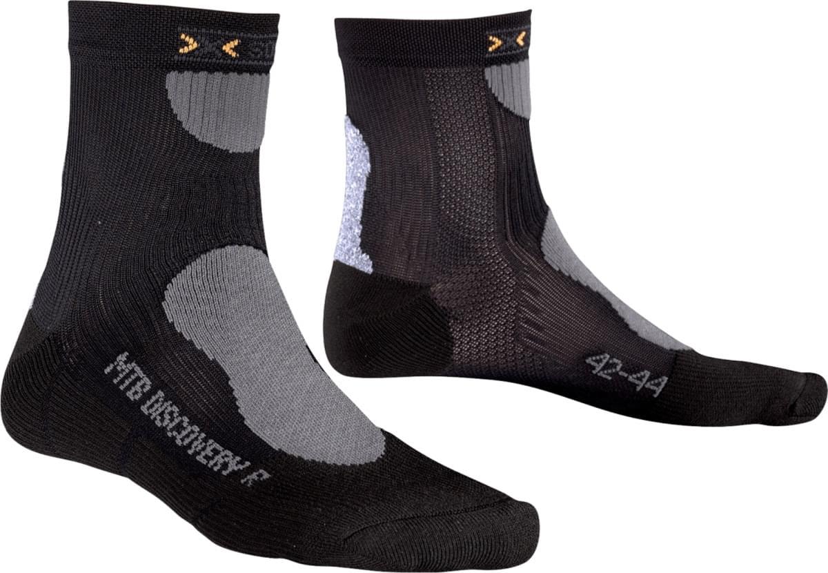 X-Socks Mountain Biking Discovery Short Socks - black 39/41