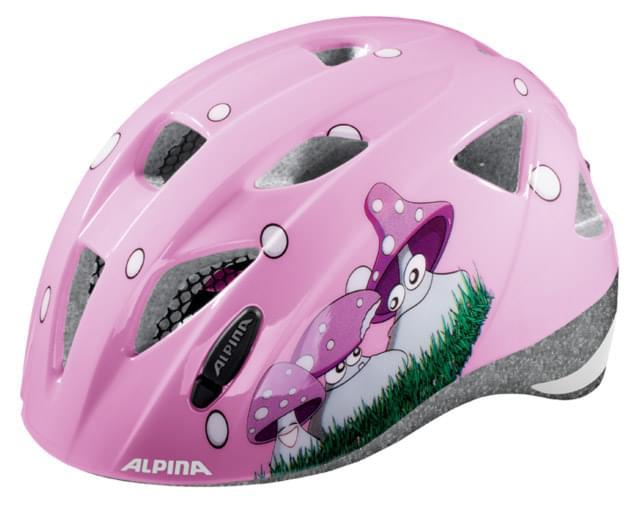Dětská přilba na kolo Alpina Ximo – happy mushroom 47-51