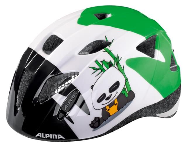 Dětská přilba na kolo Alpina Ximo – panda 47-51